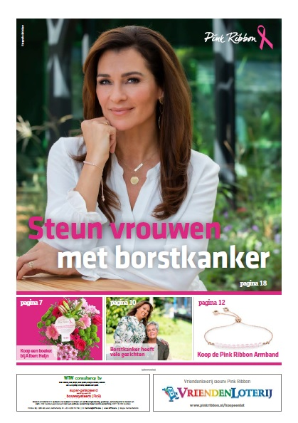 Cover Pink Ribbon krant 2019